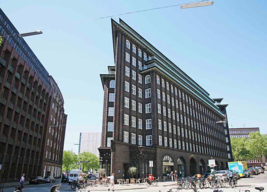 Hamburg Sehenswürdigkeiten: Chilehaus im Kontorhausviertel