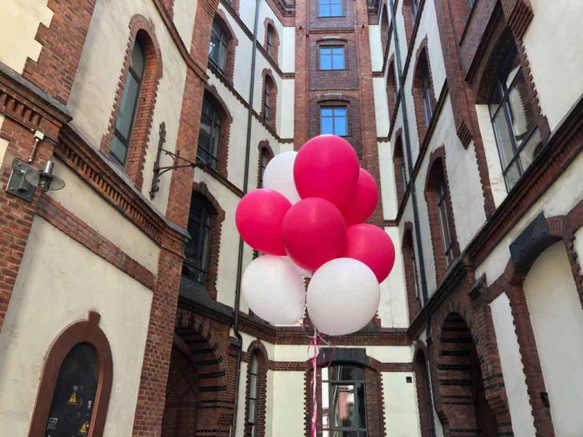 Rosinenfischer Luftballons in der Speicherstadt