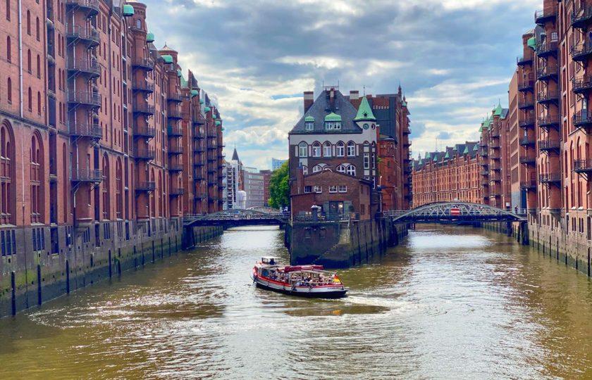 Speicherstadt Hamburg, Barkasse, Hamburg Stadtführung, Rosinenfischer