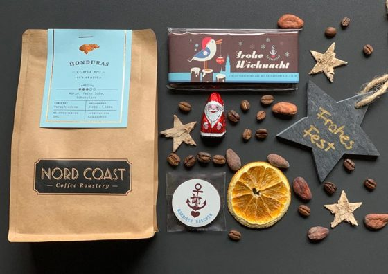 Der lütte Wiehnachtsbüddel mit leckerem Kaffee